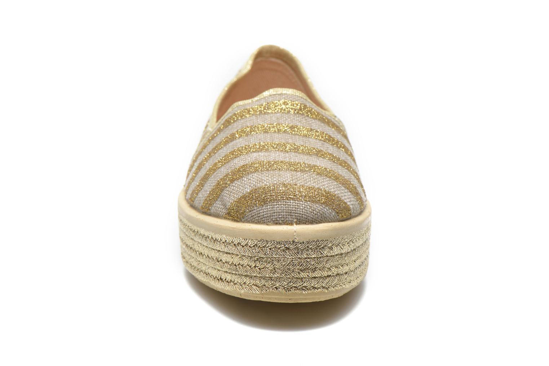 Espadrilles Sixty Seven Zipiti Or et bronze vue portées chaussures