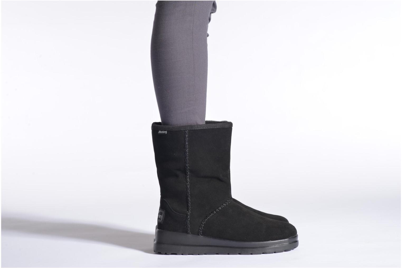 Bottines et boots Skechers Cherish Just Because 48672 Marron vue bas / vue portée sac