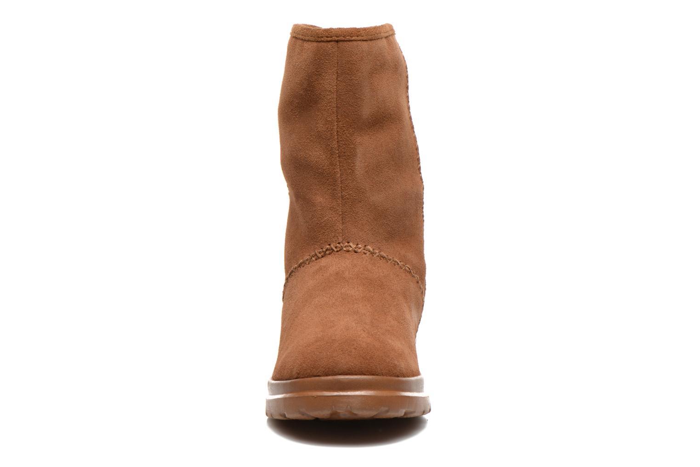 Bottines et boots Skechers Cherish Just Because 48672 Marron vue portées chaussures