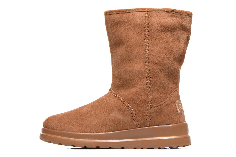 Bottines et boots Skechers Cherish Just Because 48672 Marron vue face