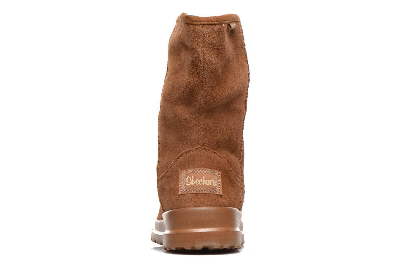 Bottines et boots Skechers Cherish Just Because 48672 Marron vue droite