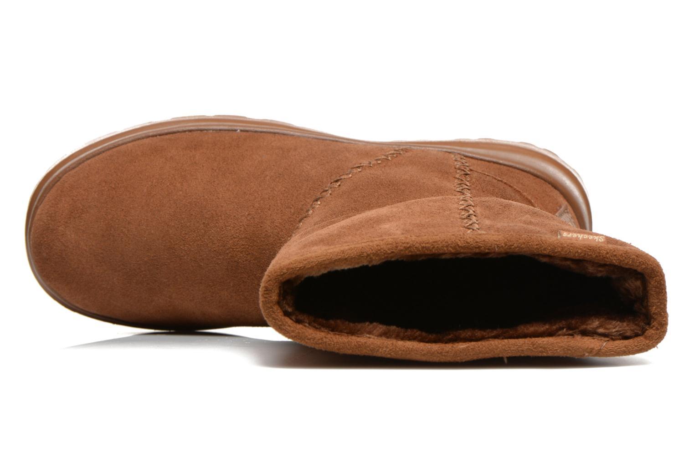 Bottines et boots Skechers Cherish Just Because 48672 Marron vue gauche