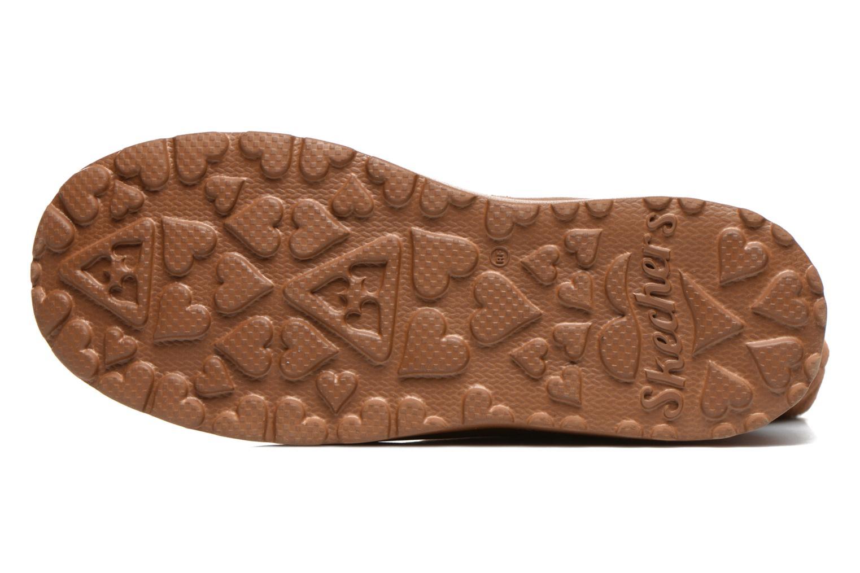 Bottines et boots Skechers Cherish Just Because 48672 Marron vue haut