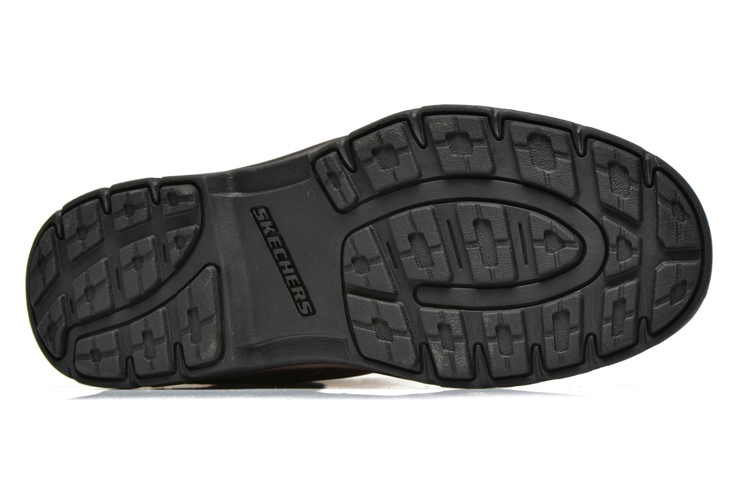 Lace-up shoes Skechers Segment Melego 64522 Brown view from above