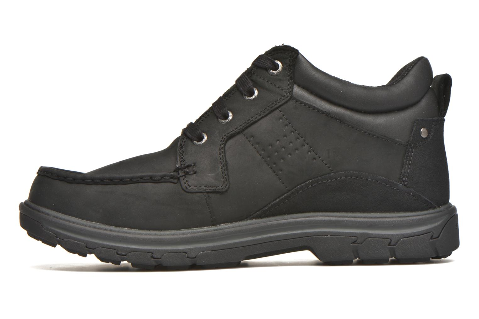 Lace-up shoes Skechers Segment Melego 64522 Black front view