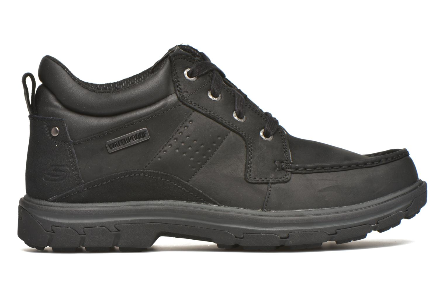 Lace-up shoes Skechers Segment Melego 64522 Black back view