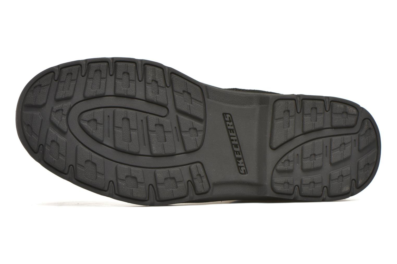Lace-up shoes Skechers Segment Melego 64522 Black view from above