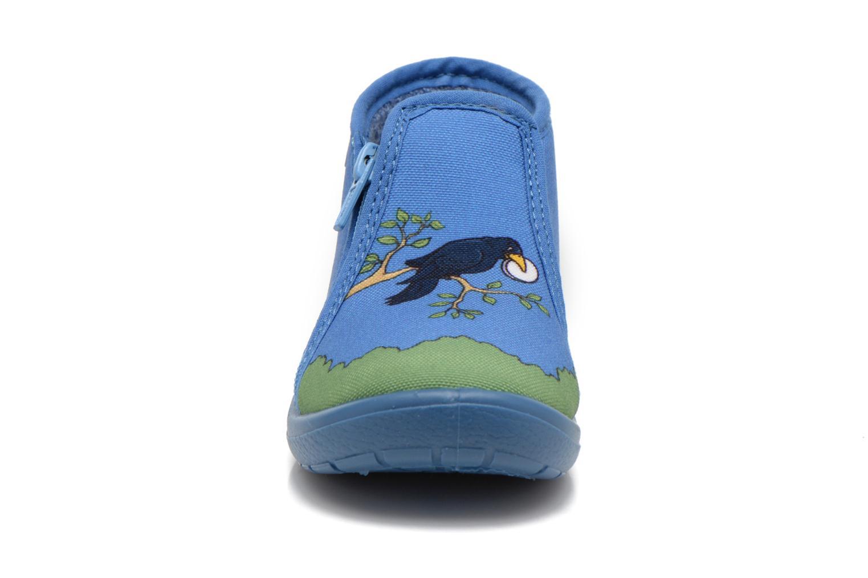 Slippers Little Mary Zecorbeau Blue model view