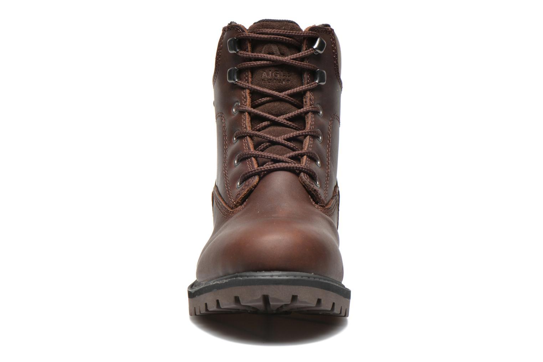 Bottines et boots Aigle Sembley MTD Marron vue portées chaussures