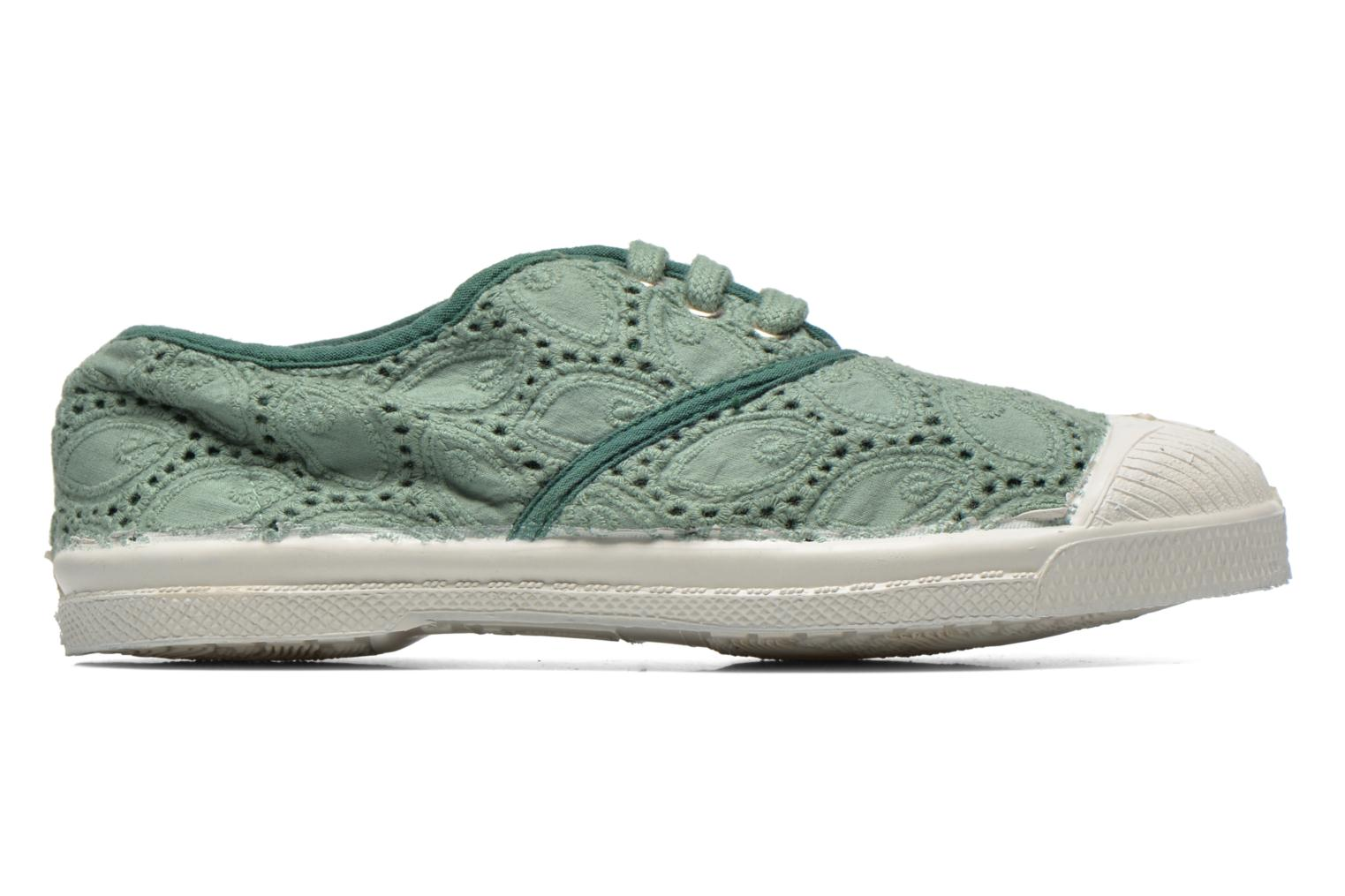 Sneakers Bensimon Tennis Broderie Anglaise E Verde immagine posteriore