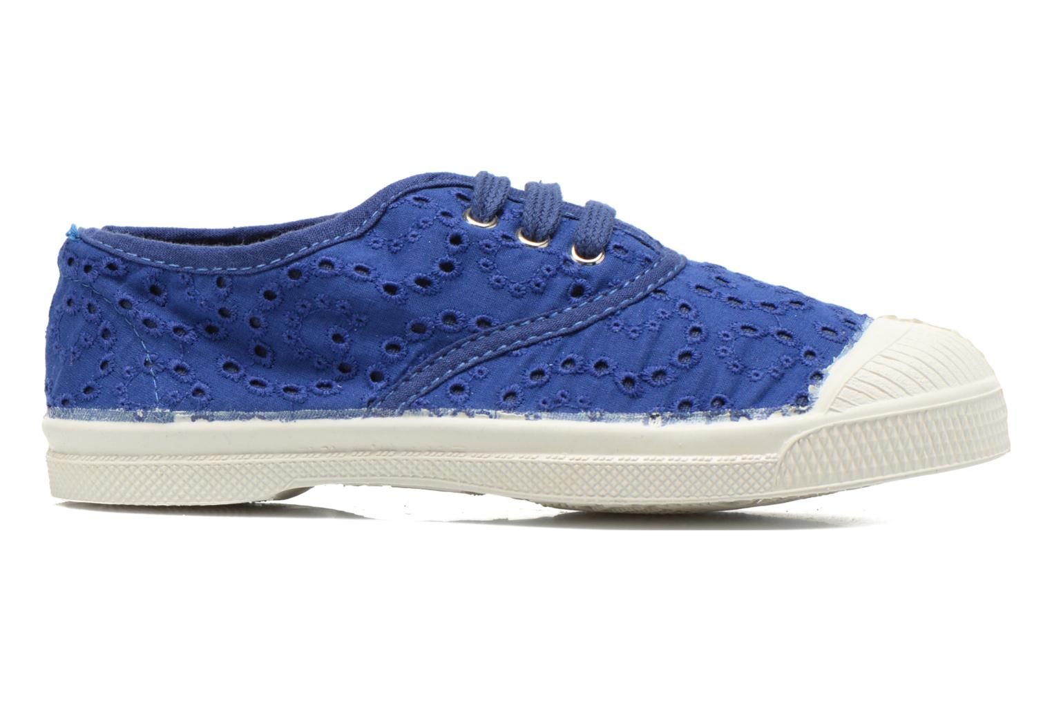 Trainers Bensimon Tennis Broderie Anglaise E Blue back view
