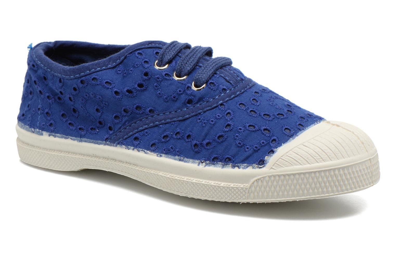 Sneakers Bensimon Tennis Broderie Anglaise E Blå detaljeret billede af skoene