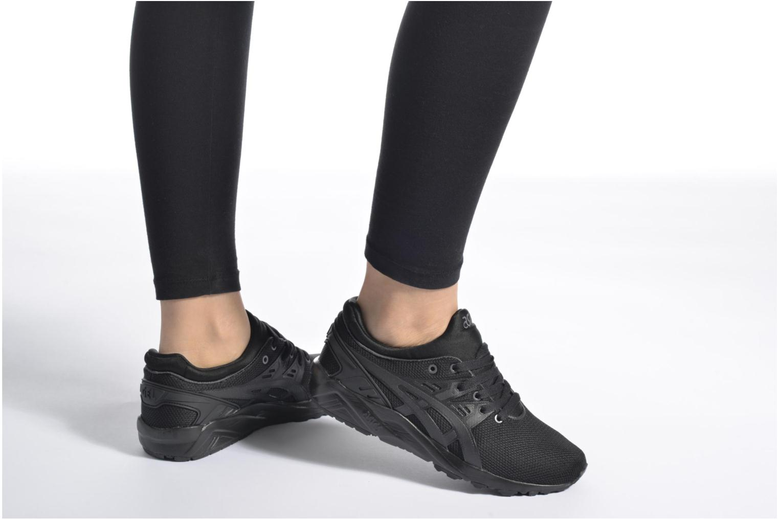 Trainers Asics Gel-Kayano Trainer Evo W Black view from underneath / model view