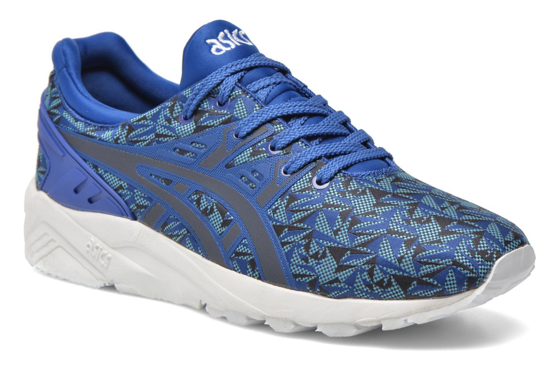 Sneakers Asics Gel-Kayano Trainer Evo Blauw detail