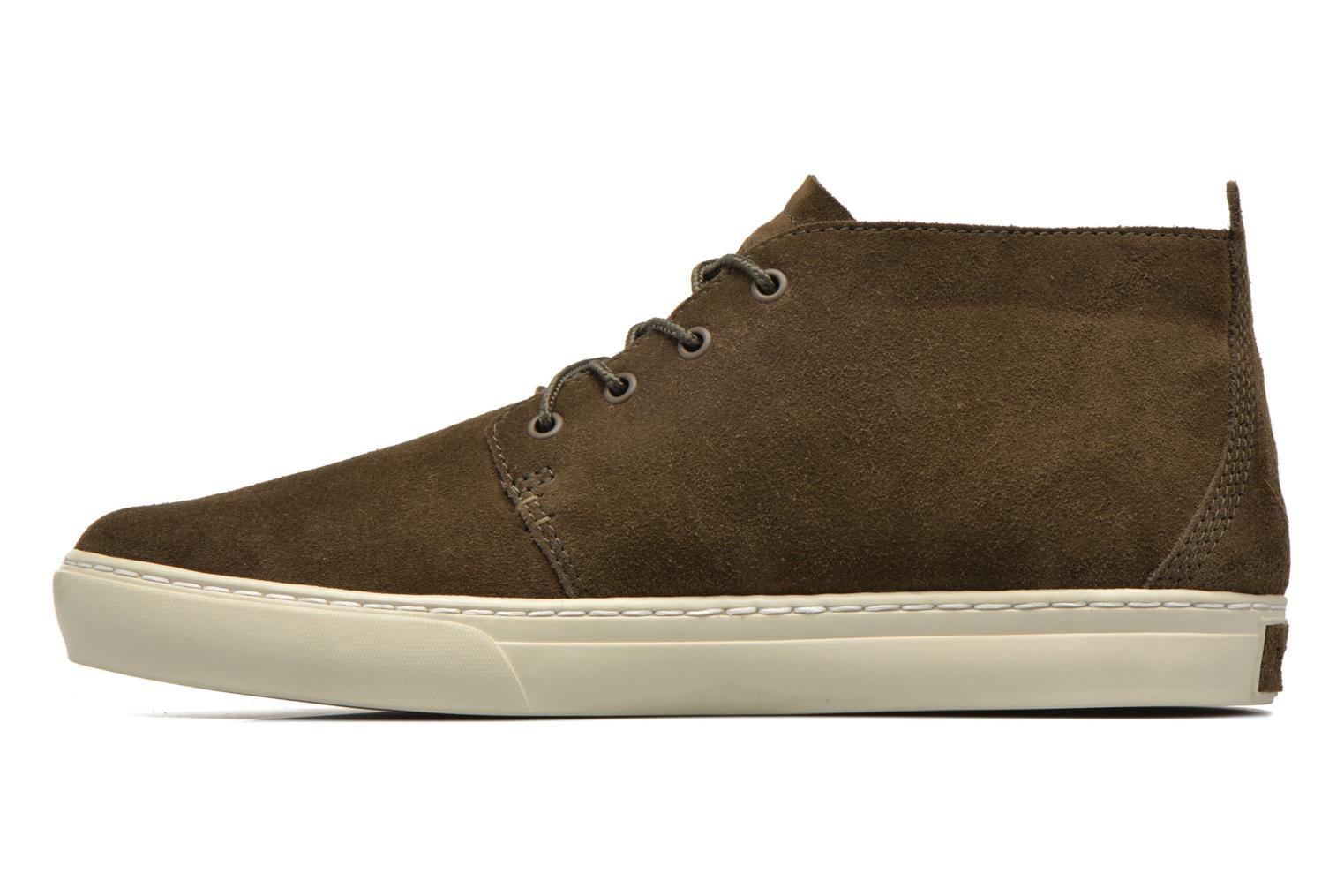 Trainers Timberland Adventure 2.0 Cupsole Chukka Green front view