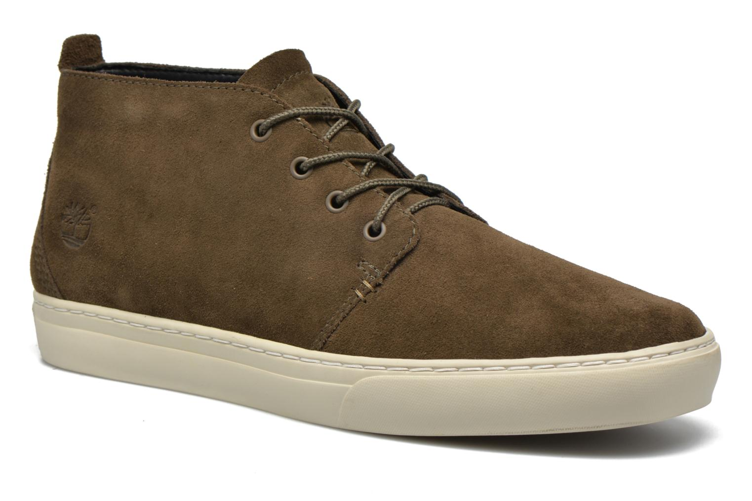 Trainers Timberland Adventure 2.0 Cupsole Chukka Green detailed view/ Pair view