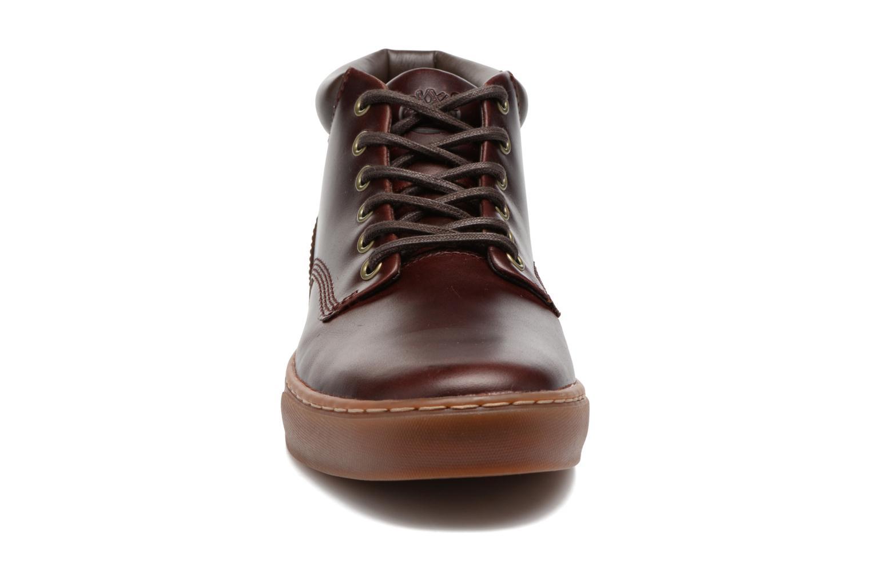 Sneakers Timberland Adventure 2.0 Cupsole Chukka Vinröd bild av skorna på