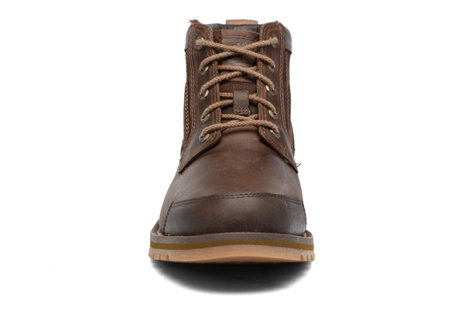 Ankle boots Timberland Larchmont Chukka Brown model view