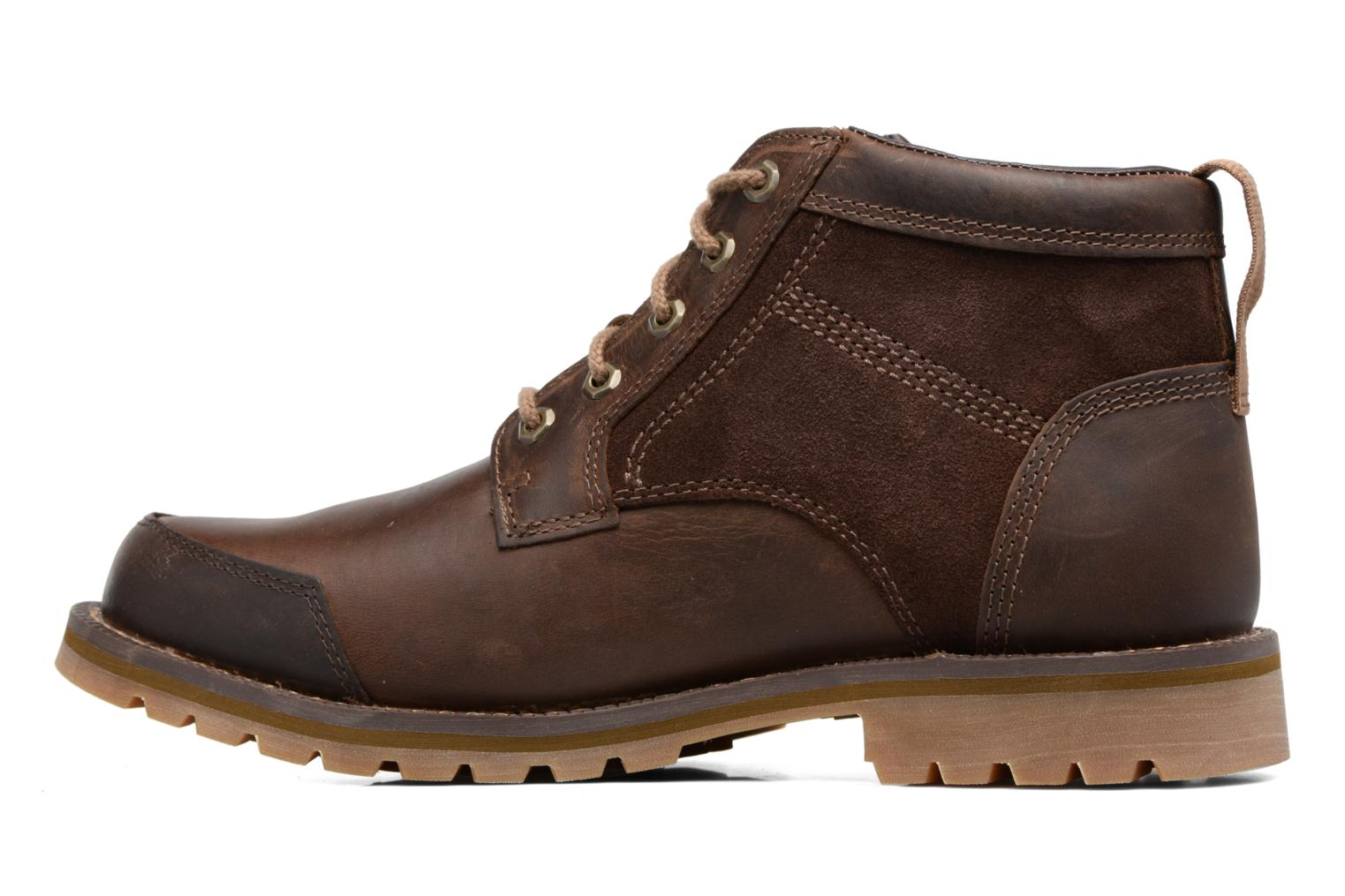 Ankle boots Timberland Larchmont Chukka Brown front view