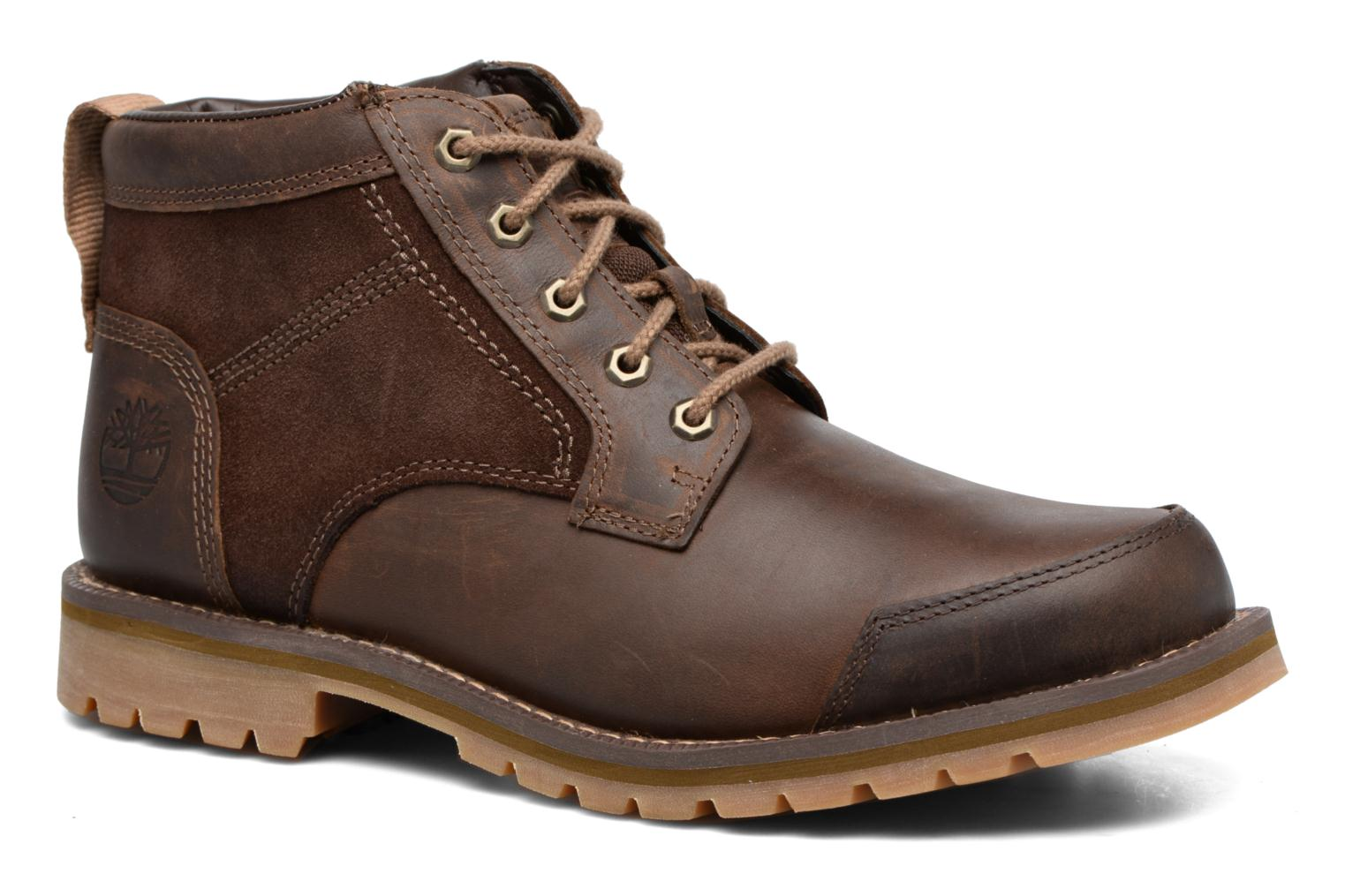 Ankle boots Timberland Larchmont Chukka Brown detailed view/ Pair view