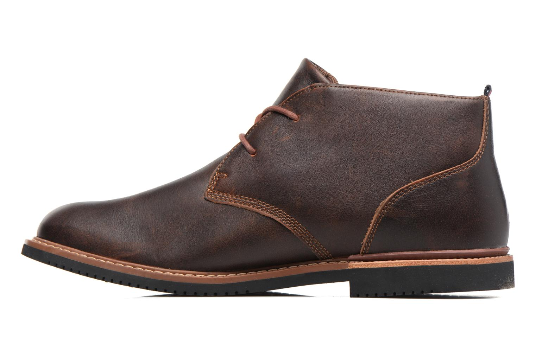 Chaussures à lacets Timberland Brook Park Chukka Marron vue face
