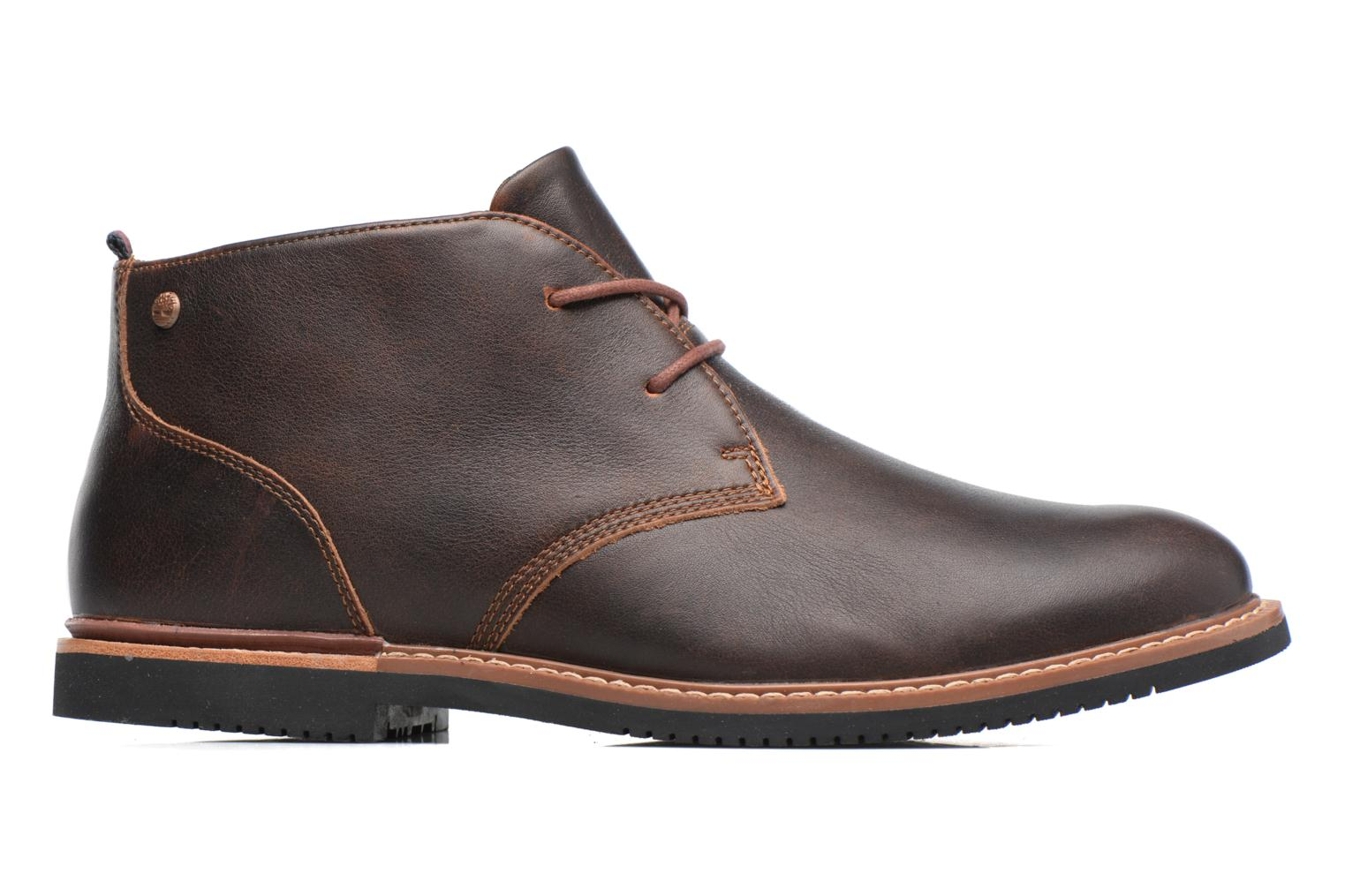 Lace-up shoes Timberland Brook Park Chukka Brown back view