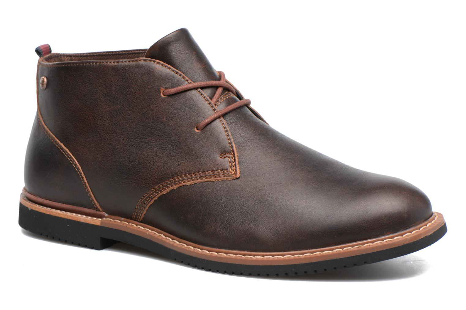 Lace-up shoes Timberland Brook Park Chukka Brown detailed view/ Pair view
