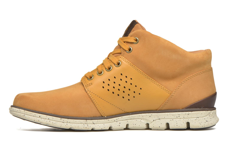 Sneakers Timberland Bradstreet Half Cab Beige voorkant