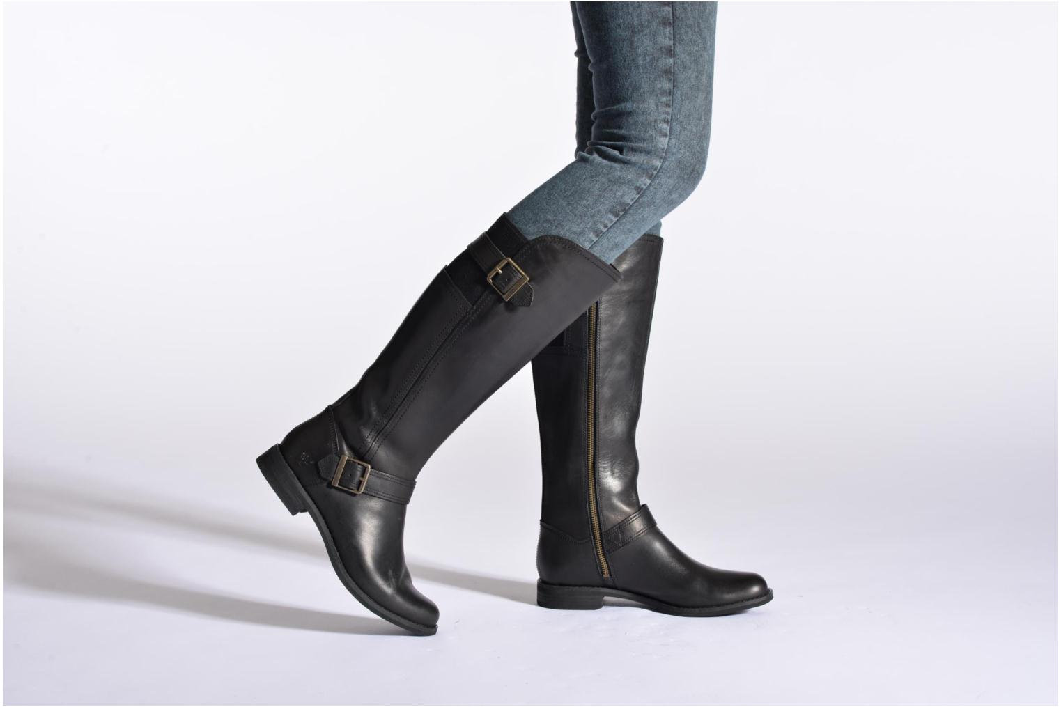 Boots & wellies Timberland Savin Hill Buckle Gore Tall Black view from underneath / model view