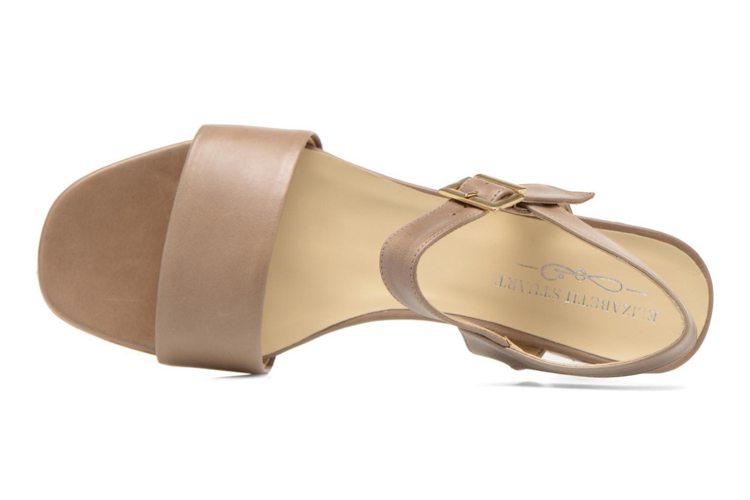 Sandals Elizabeth Stuart Sister 304 Beige view from the left