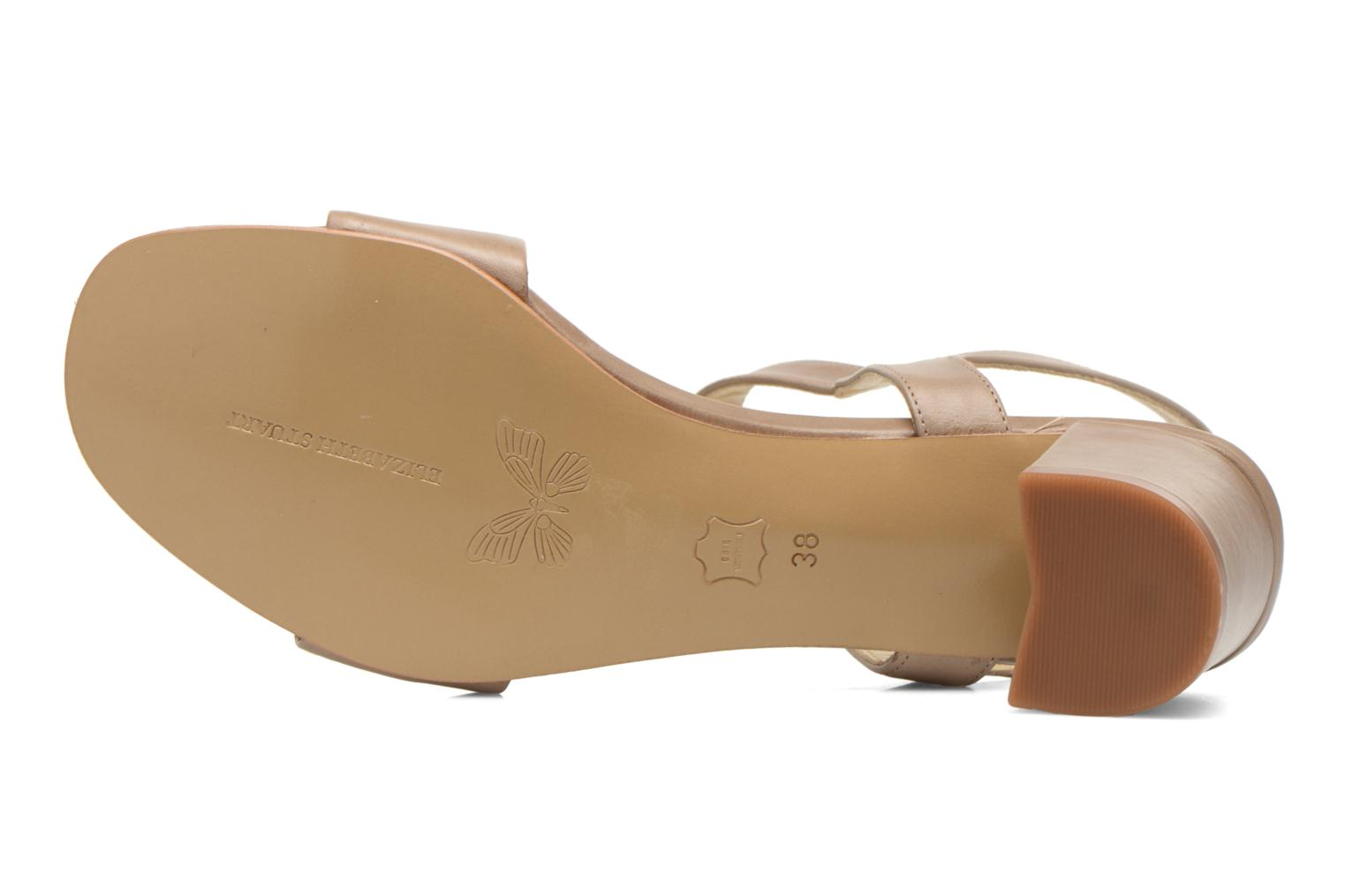 Sandals Elizabeth Stuart Sister 304 Beige view from above