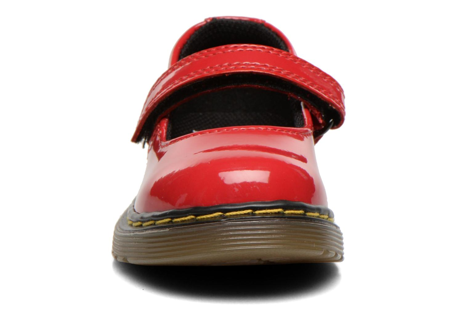Ballerines Dr. Martens Tully E Rouge vue portées chaussures