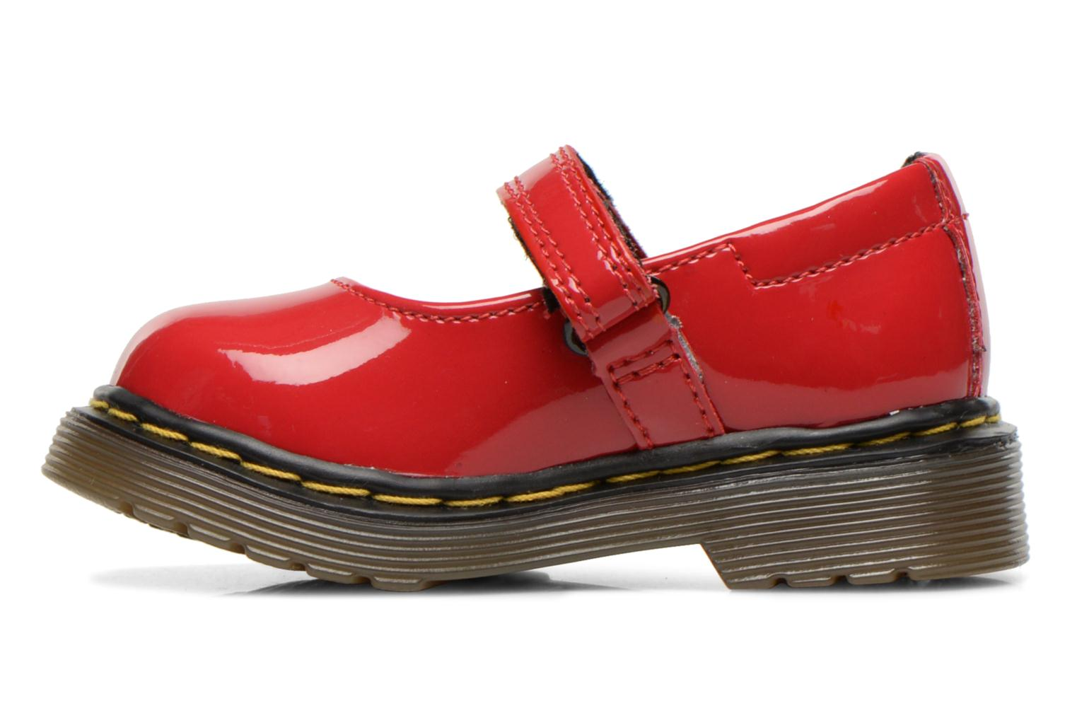 Ballerines Dr. Martens Tully E Rouge vue face