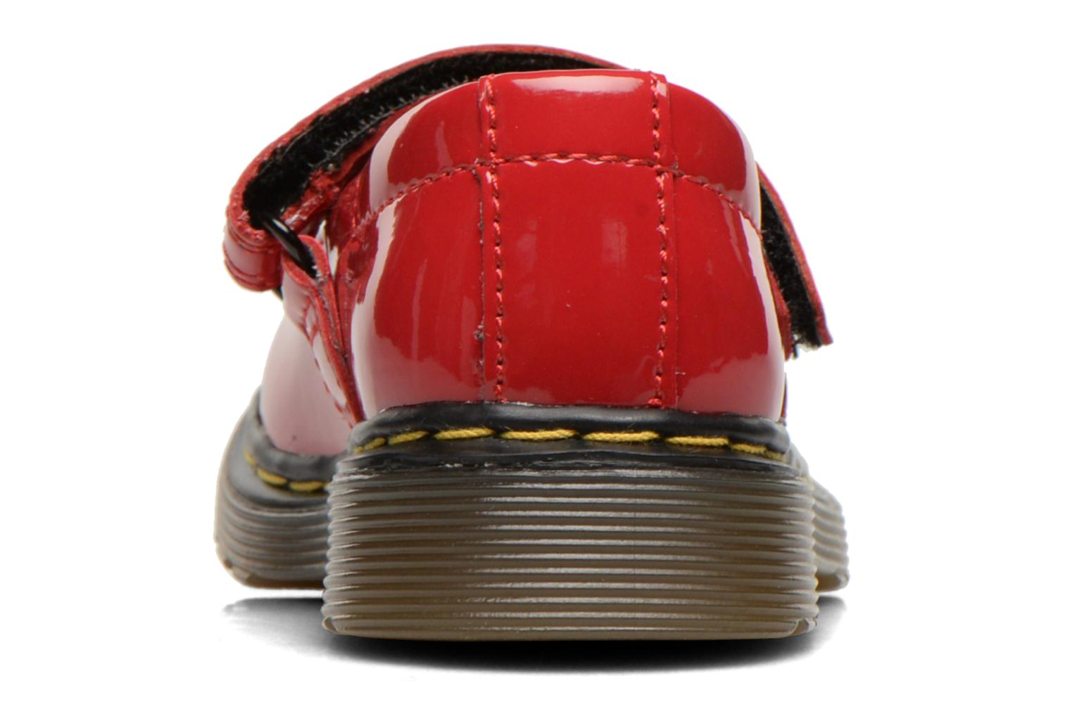 Ballerines Dr. Martens Tully E Rouge vue droite
