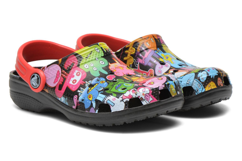 Sandales et nu-pieds Crocs Classic Burger Clog Kids Multicolore vue 3/4