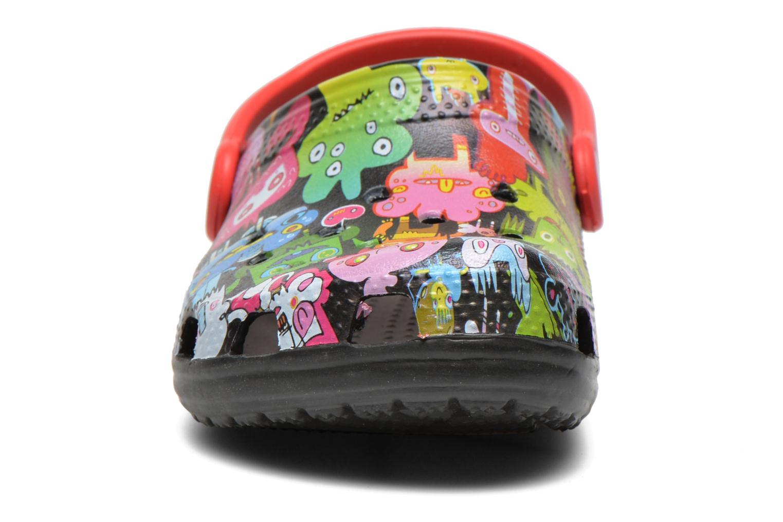 Sandales et nu-pieds Crocs Classic Burger Clog Kids Multicolore vue portées chaussures
