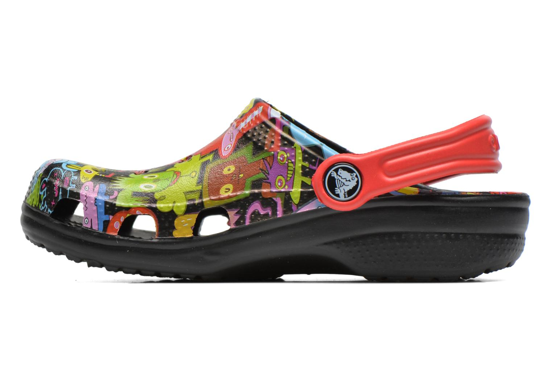 Sandalen Crocs Classic Burger Clog Kids mehrfarbig ansicht von vorne