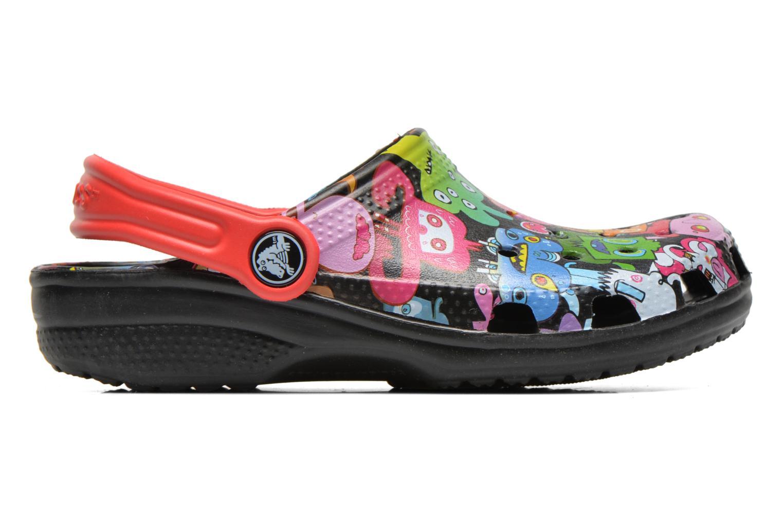 Sandalen Crocs Classic Burger Clog Kids Multicolor achterkant