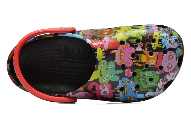 Sandalen Crocs Classic Burger Clog Kids mehrfarbig ansicht von links