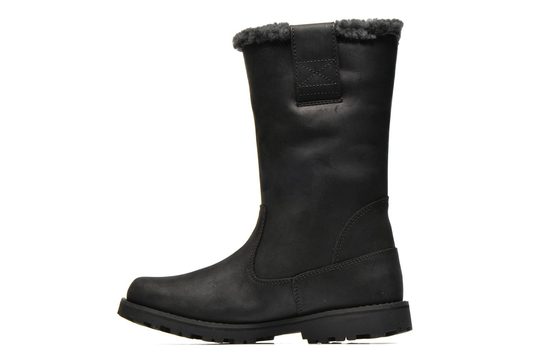 Boots en enkellaarsjes Timberland 8 IN PULL ON WP BOOT Zwart voorkant