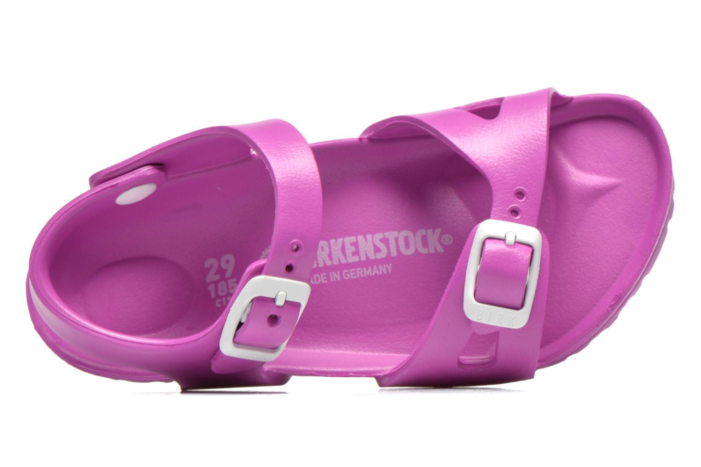 Sandales et nu-pieds Birkenstock Rio EVA Rose vue gauche