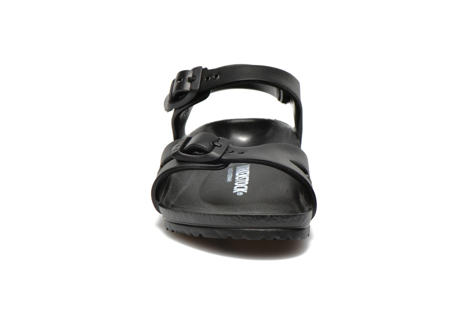 Sandals Birkenstock Rio EVA Black model view