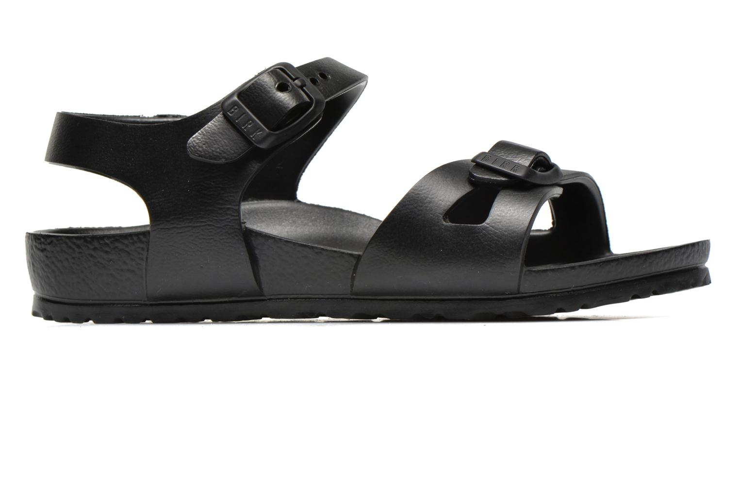 Sandals Birkenstock Rio EVA Black back view