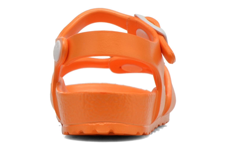 Sandales et nu-pieds Birkenstock Rio EVA Orange vue droite