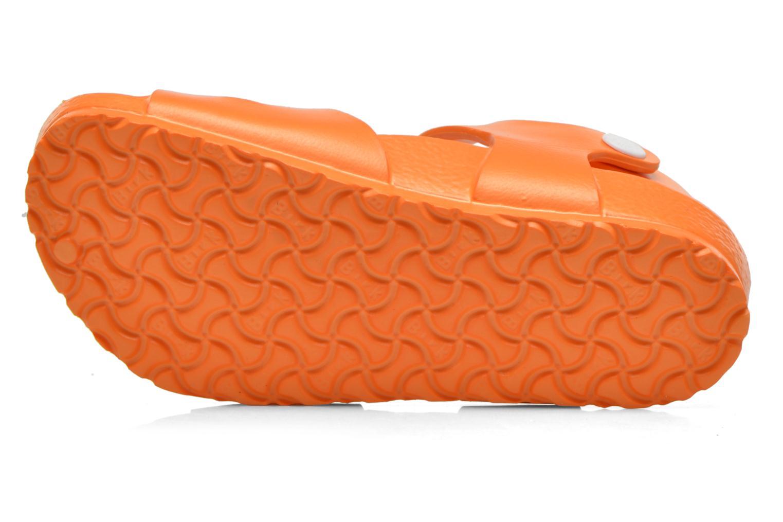 Sandales et nu-pieds Birkenstock Rio EVA Orange vue haut