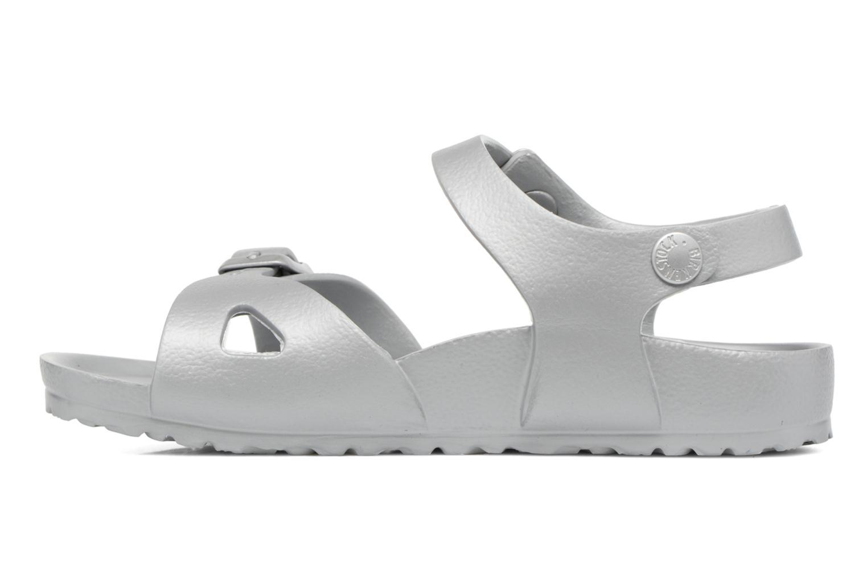 Sandali e scarpe aperte Birkenstock Rio EVA Argento immagine frontale