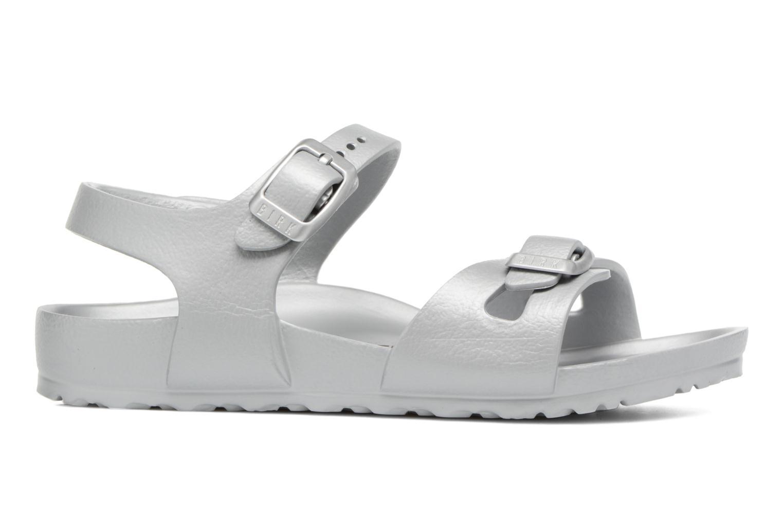 Sandali e scarpe aperte Birkenstock Rio EVA Argento immagine posteriore
