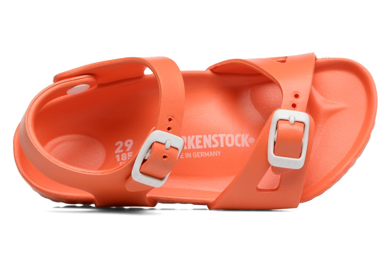 Sandalen Birkenstock Rio EVA Oranje links