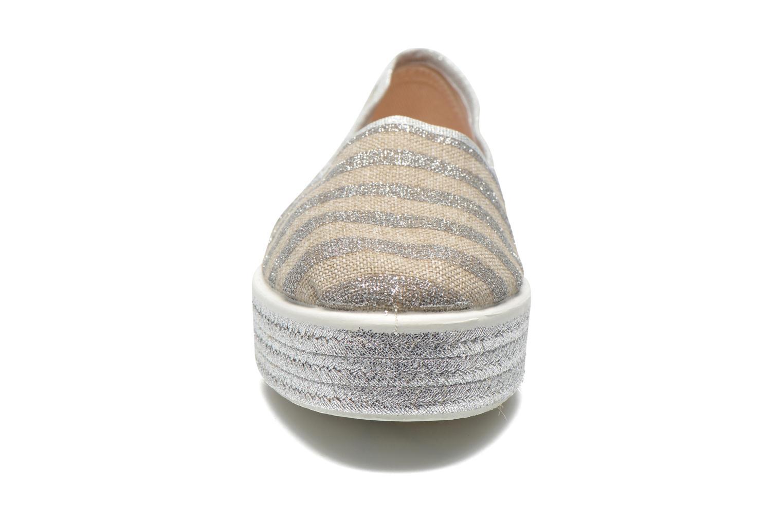 Espadrilles Sixty Seven Stripes Argent vue portées chaussures