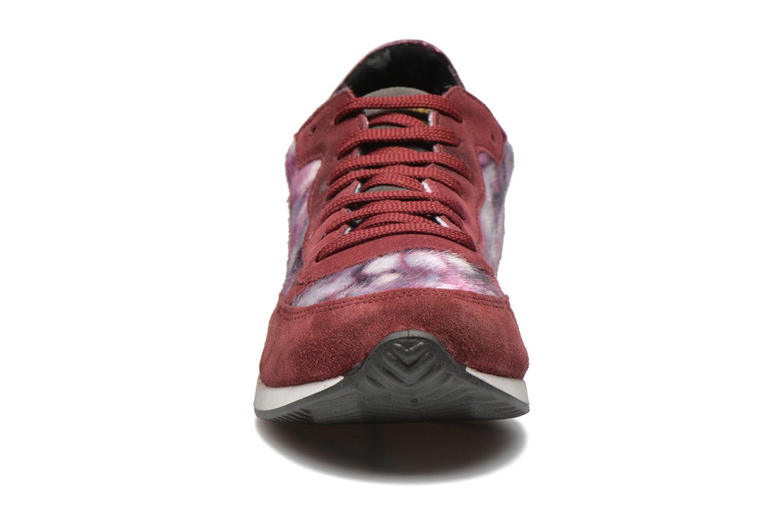 Baskets Ippon Vintage Run Fur Bordeaux vue portées chaussures